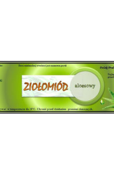 ziołomiód aloesowy 2